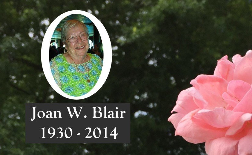 Joan W. Blair, 1930-2014