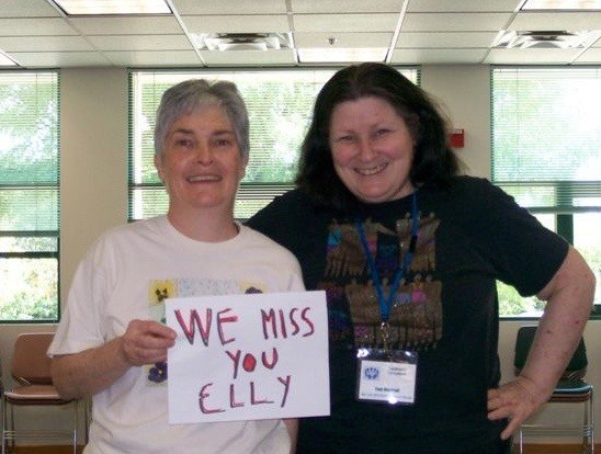 Photo of Eileen Melia and Toni Marshall