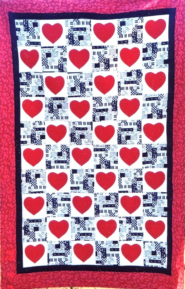 Photo of Empowered Heart Rhythm Quilt