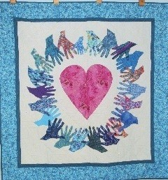 Photo of Healing Energy of Love Quilt