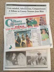 Obituary image for Joan W. Blair 1930-2014