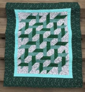 photo of In The Garden of Life quilt