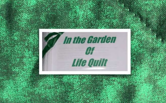 Affirmation Quilt Ministry – Meditation for Elly Brosius